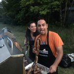 epic Barbecue on the hotel grounds