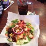 Salad at Bud's Burgers, It is Huge!