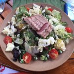Ahi Tuna Salad - Fresh and delicious