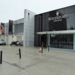 Outside of Waterford Crystal
