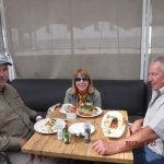 Outdoor dining at the Hill Cafe
