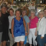 Our group of gals had a wonderful pasta meal at Piero's!