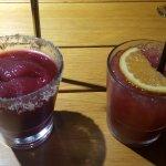 Frozen Blueberry Mojito & Sangria Lemonade