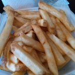 SUPERB HOT FRESHLY MADE FRENCH FRIES!