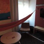 relaxing private room with hammoc :-)