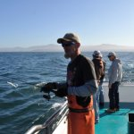 Shad the deckhand aboard the Samson. More knowledge about fishing than you could imagine.
