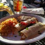 Passable Chicken enchilada