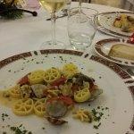 Pastagericht mit Meeresfrüchten, halbe Portion (auf Wunsch).
