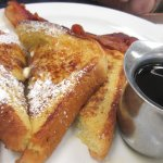 French Toast and Syrup, Maggie's On Meeker, Kent, WA