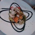 wok de chipirones con verduritas