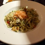 Seafood pasta - could be much better