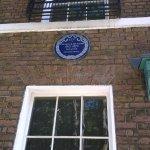 The Dickens Blue Plaque