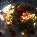 Très bonne petite salade un midi en terrasse