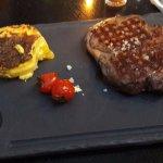 viande argentine et gratin de pommes de terre