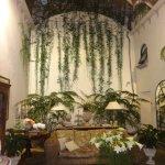 The wonderful Palazzo Marziale entrance