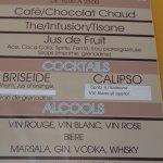 boissons all inclusive