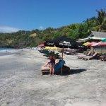 Warungs on beach