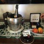 HOTEL BIRTHDAY CAKE!