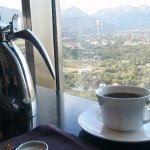 Coffee and the view