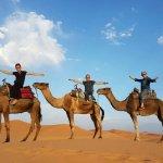 Merzouga Dunes Foto