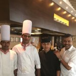 With the Chef Brigade................1