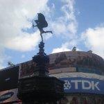 Saliendo de Piccadilly Circus
