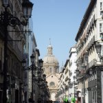 A street in Zaragoza centre