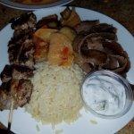 Greek Combo #2 : Gyros, Souvalki, rice and turlu .. MMMM!!!