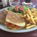 Best halloumi &tomato sandwich!