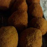 Arancini classici e al pistacchio