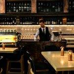 Bistro bar area