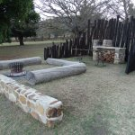 Braai area and fire pit