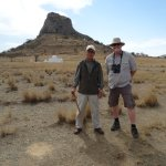 Paul and myself at Isandlwana