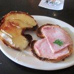 Hot Ham and Brie sandwich