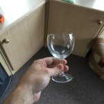 wine glasses were so small - something from the 80s