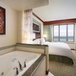 Two bedroom penthouse suite, king bedroom