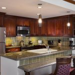 Two bedroom penthouse suite kitchen