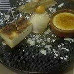 Dessert sympathique....