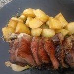 eccellenza del filetto sublimi i cipollotti divine le patate