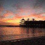 sunset at Avila Beach Hotel Curacao 7 september 2016