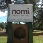Nomi Resort sign