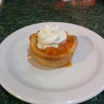 Bakeapple tart. Not bad.