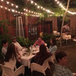 Outdoor Dining with Live Music