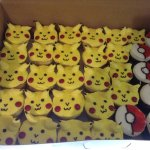Pokemon cupcakes for my daughter's birthday party