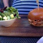 Club sandwich & fillet mignon