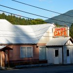 Jack's Cafe is right on Hwy 2 just east of the main town area. Good food and great prices.