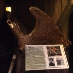 One of the displays known as a Bellamy eagle. The folks inside the museum explained this in deta