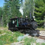 Engine number 9 - built in Maine and it operated on the original WW&F