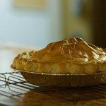 Fresh baked Lemon Meringue pie