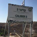 Entrance to Caliber 3--no photos allowed inside!